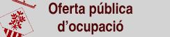 Oferta Pública d'Ocupació